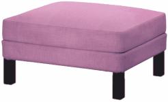 custom footstool slipcover