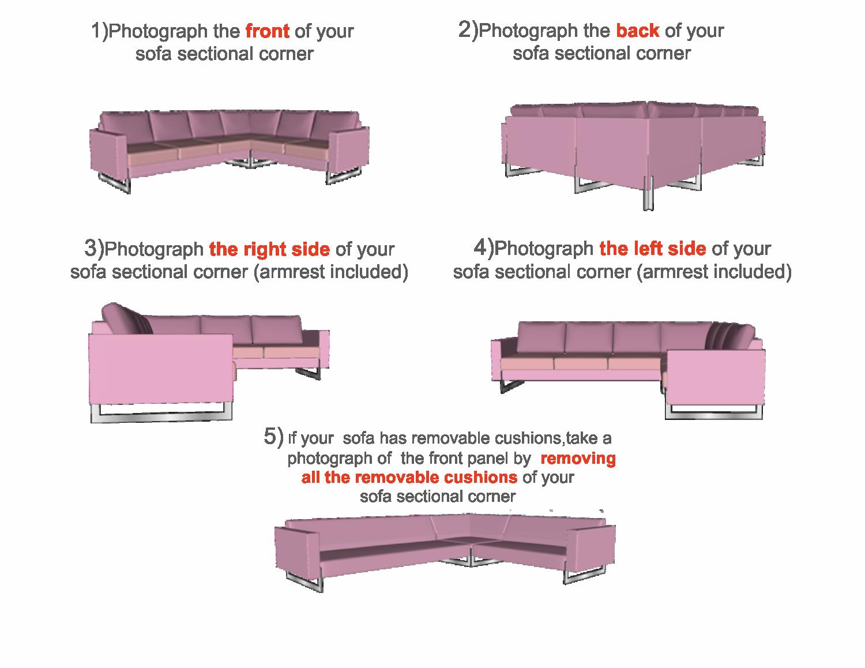 tailor made sectional corner slipcover tutorial