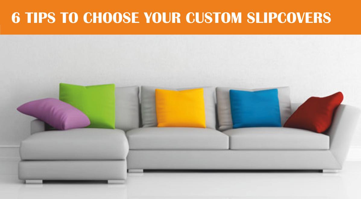 choose your custom slipcovers