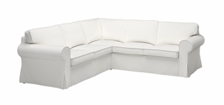U shaped sectional slipcovers