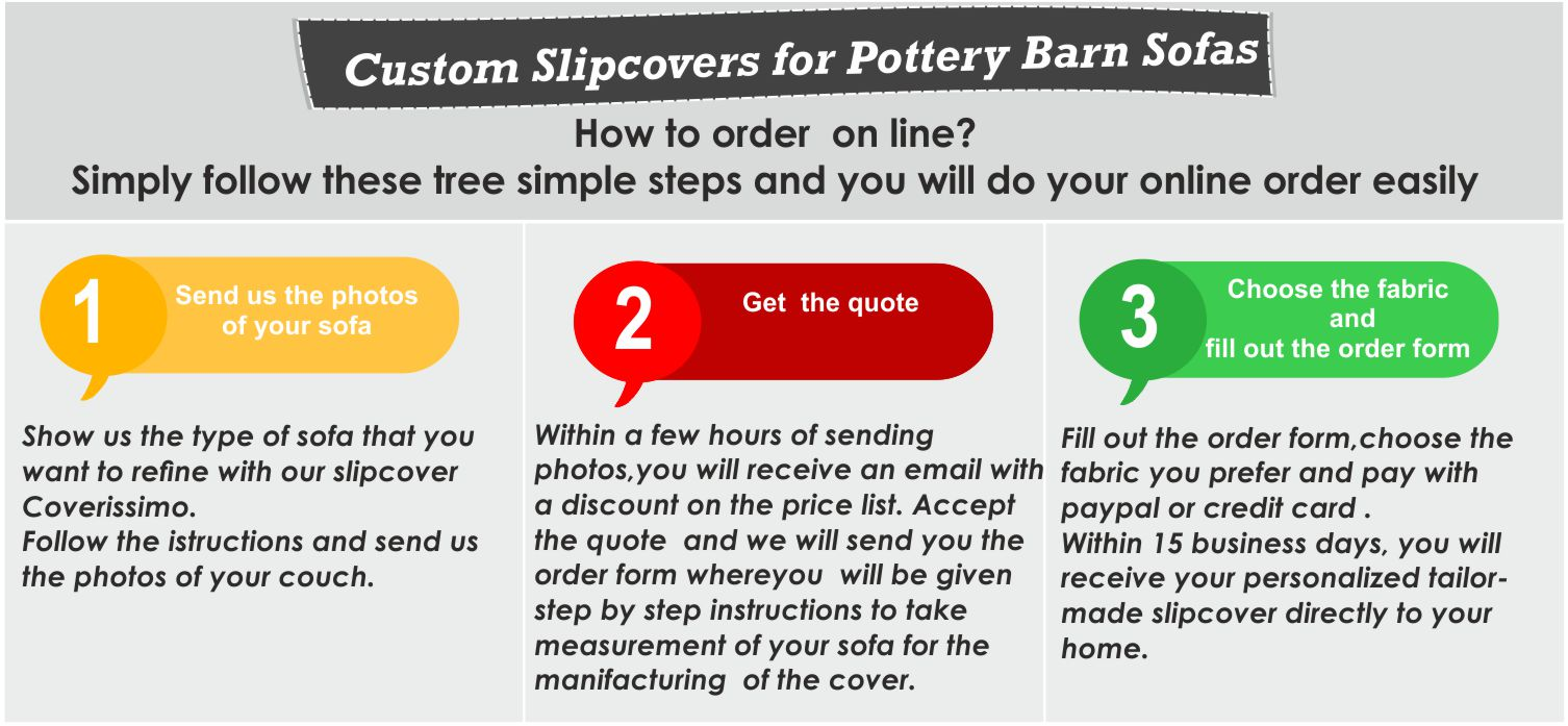 Pottery Barn slipcovers custom made slipcover for your sofa : Pottery Barn slipcovers instructions  from www.coverissimo.net size 1506 x 697 jpeg 161kB