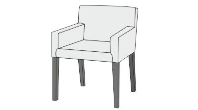 dining chairs with arms slipcpvers