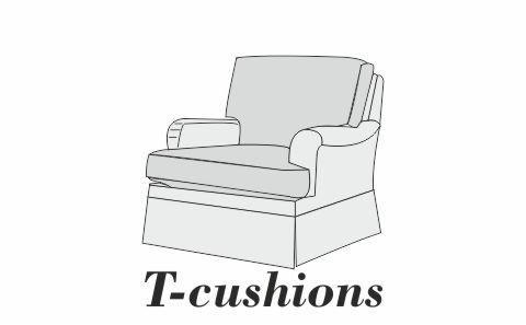 T cushions sofa slipcovers