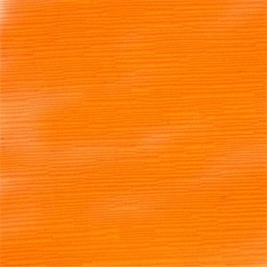 orange fabric slipcover
