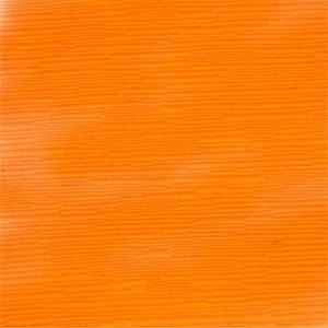 orange fabric slipcover