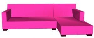 sofa L non cushions