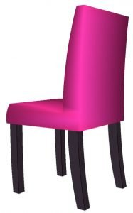 dining chair side
