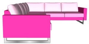u sofa side left