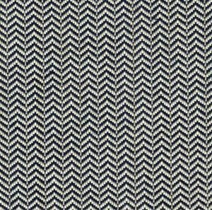 Chevron fabric blue