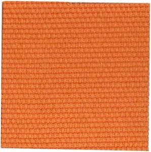 Canvas Fabric orange color