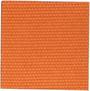 Canvas Fabric orange color